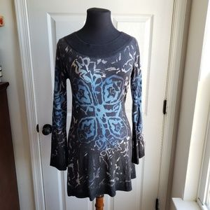 Krimson Klover L Wool Blend Tunic Sweater